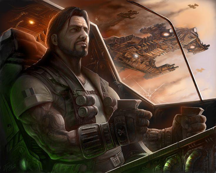 Jim Raynor. #Starcraft fan art by Dmitriy Prozorov.