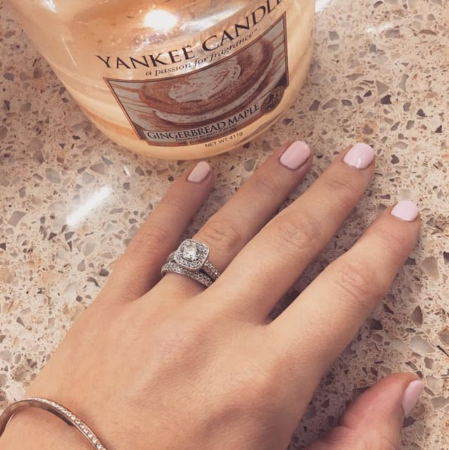Anna Saccone engagement ring
