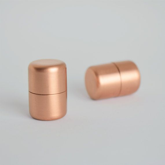 Modern Proper Copper Knob. Contemporary Drawer Pull Handle