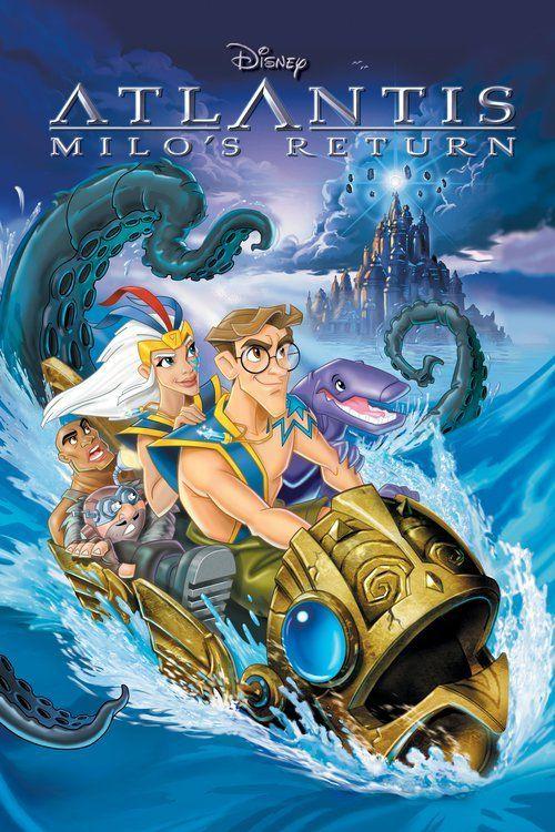 Atlantis O Retorno De Milo Filmes De Animacao Filmes Da