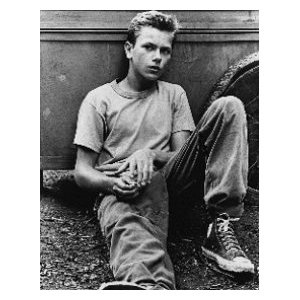 River Pheonix as Chris Chamber (Stand By Me), I loved him in this.