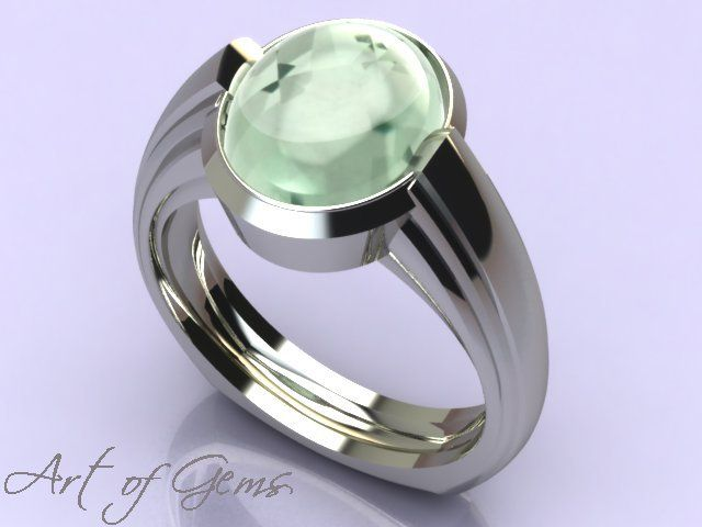Sterling silver ring with sculptural qualities. Set with green tourmaline. The original is with a good friend, but I can make you one to order! #ArtofGems