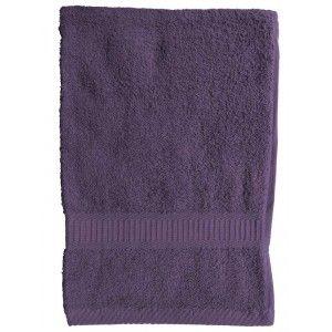 Sur Boutiquedubain.com  ! Serviette de Toilette Today Deep Purple 50x90cm
