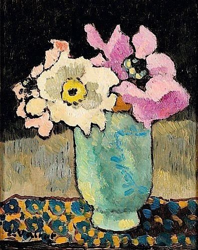 ❀ Blooming Brushwork ❀ - garden and still life flower paintings - Louis Valtat