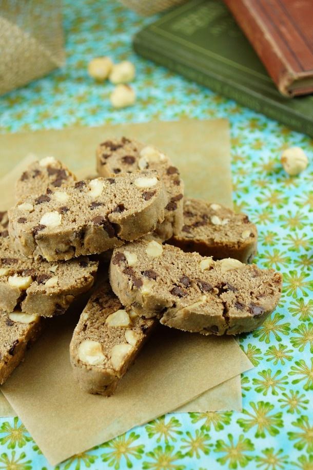 Nutella Biscotti with Hazelnuts & Chocolate from @Patty Price / Patty's Food
