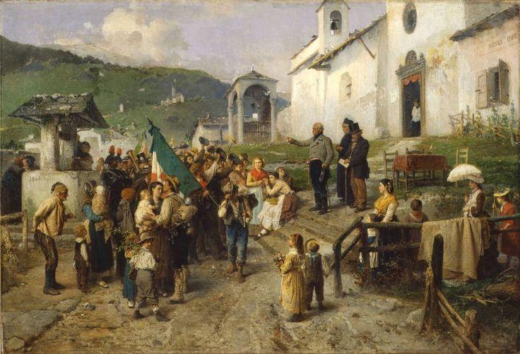 Η αναχώρηση των κληρωτών του 1866 (1878)