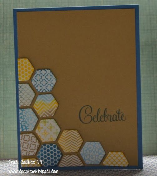 Create with Traci: Happy for hexagons!