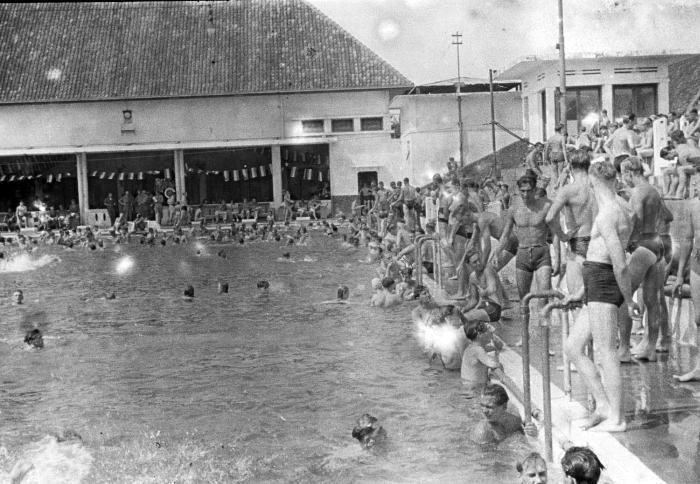 kolam renang manggarai, 1950 an