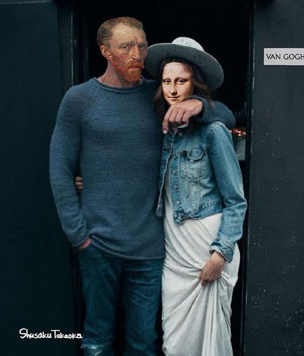 If Art History Icons Were Hipsters