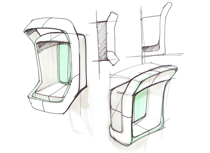 industrial design id product sketch