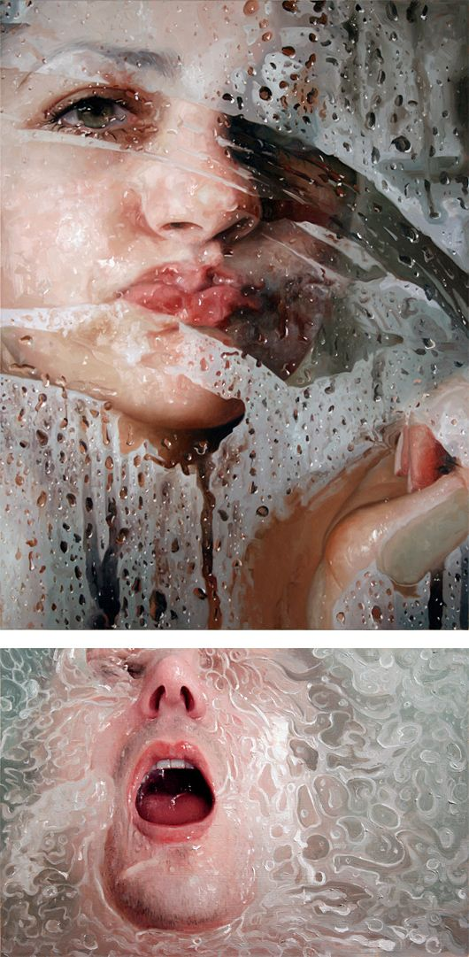 Hyper-Realistic Paintings by Alyssa Monks | Inspiration Grid | Design Inspiration