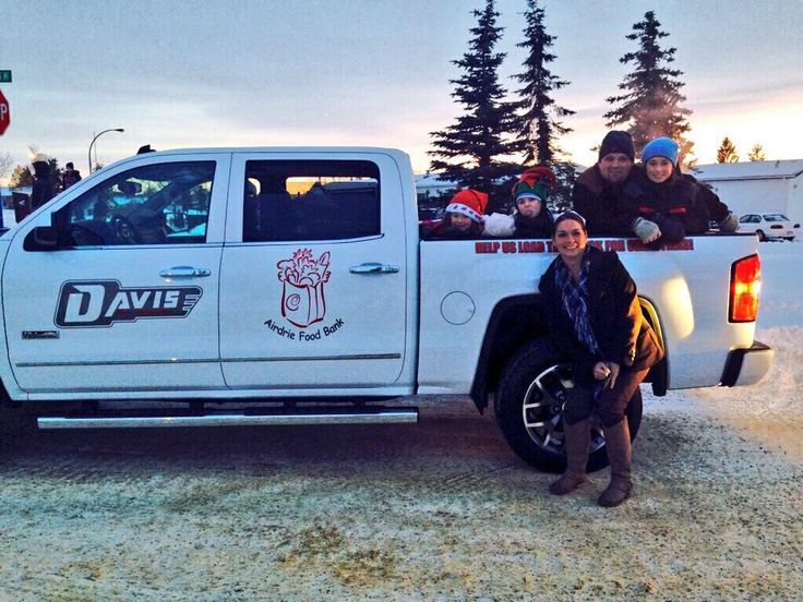 Our staff at the airdrie Christmas parade!