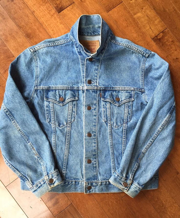 A personal favorite from my Etsy shop https://www.etsy.com/ca/listing/405380288/vintage-mid-70s-to-80s-levi-jean-jacket