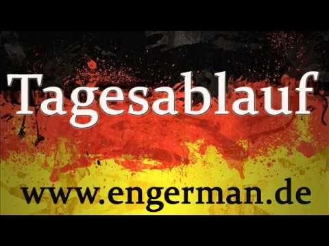 ▶ Deutsch Lernen - Tagesablauf - YouTube