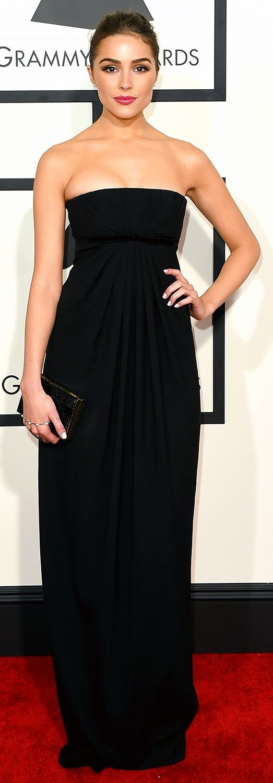Olivia Culpo - 57th Annual GRAMMY Awards in Los Angeles,  8 Feb 2015