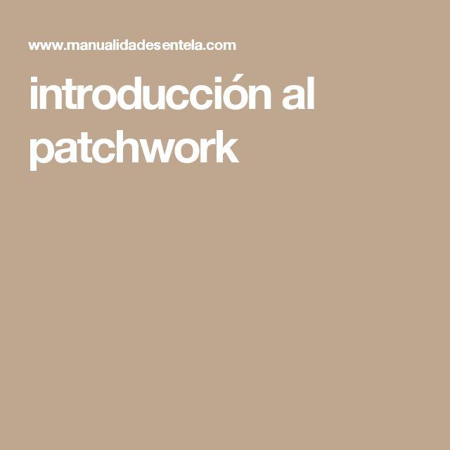 introducción al patchwork