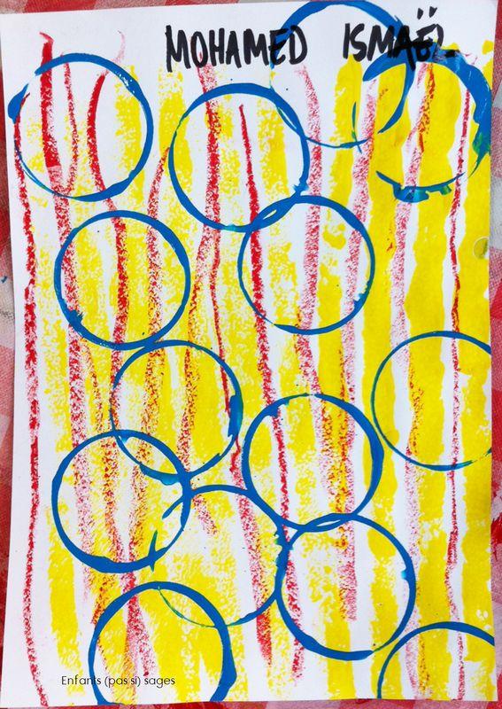 lignes et ronds