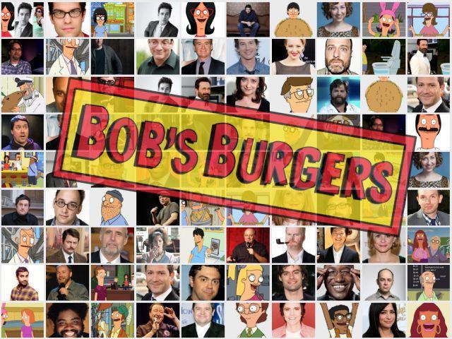 bobs burgers voices