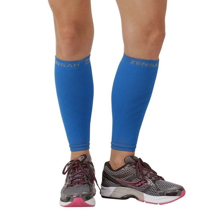 Support and Protective Gear 158919: Zensah Leg Sleeves, Shin Splint Running Compression Calf Sleeves - Blue (Pair) -> BUY IT NOW ONLY: $31.99 on eBay!