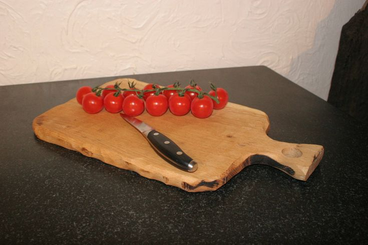 Rustic Oak serving board. by AndrewsRusticTouches on Etsy