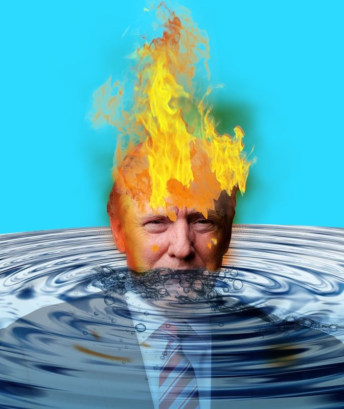 Trump on fire. Exit of the agreement of Paris on the climate