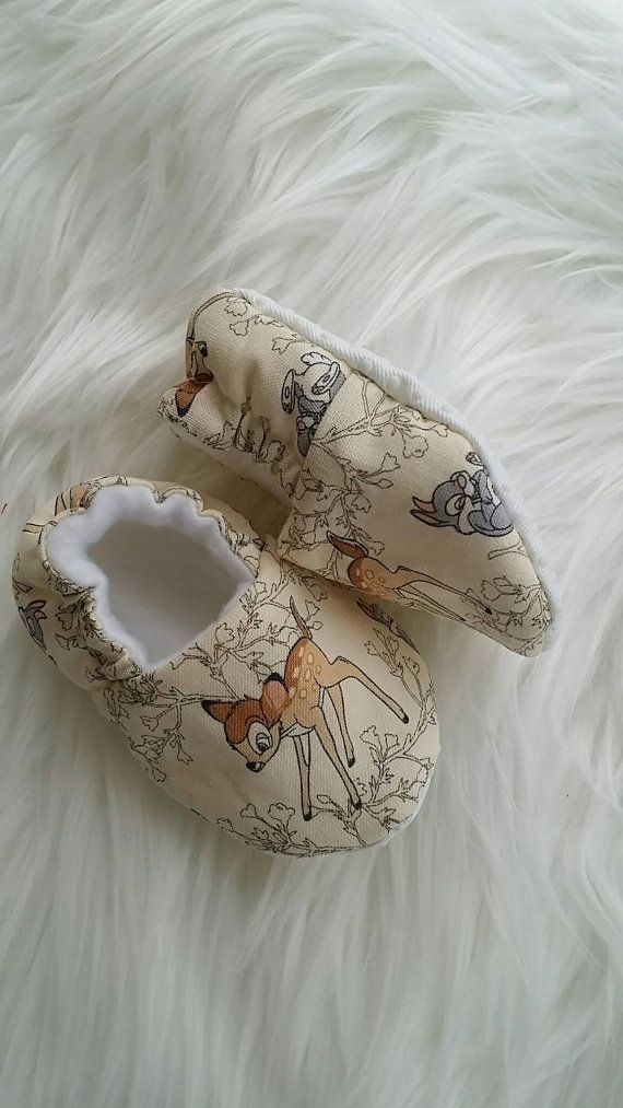 Crèche Bambi chaussures, chaussons bébé, Moccs, chaussures, chaussons, mocassins, cadeau bébé, pour bébé