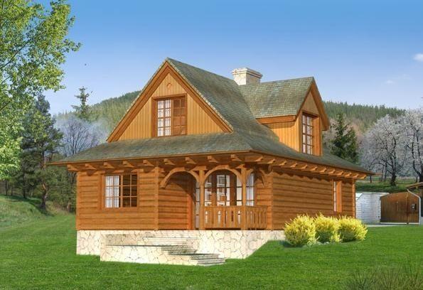 Projekt domu PLK-746 - DOM CL8-09 - gotowy projekt domu