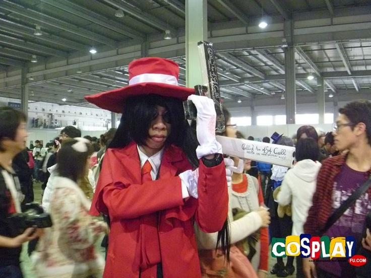 Alucard Cosplay from Hellsing in YACA 2012 Guangzhou