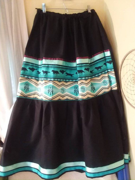 Black Skirt Gallery Of Women S Native American Style Full