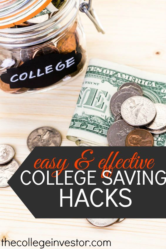 Trying to save for college? Check out these savings hacks for some of the best ways you can start saving you or your child's college education! http://thecollegeinvestor.com/16822/easy-hacks-to-save-for-college/