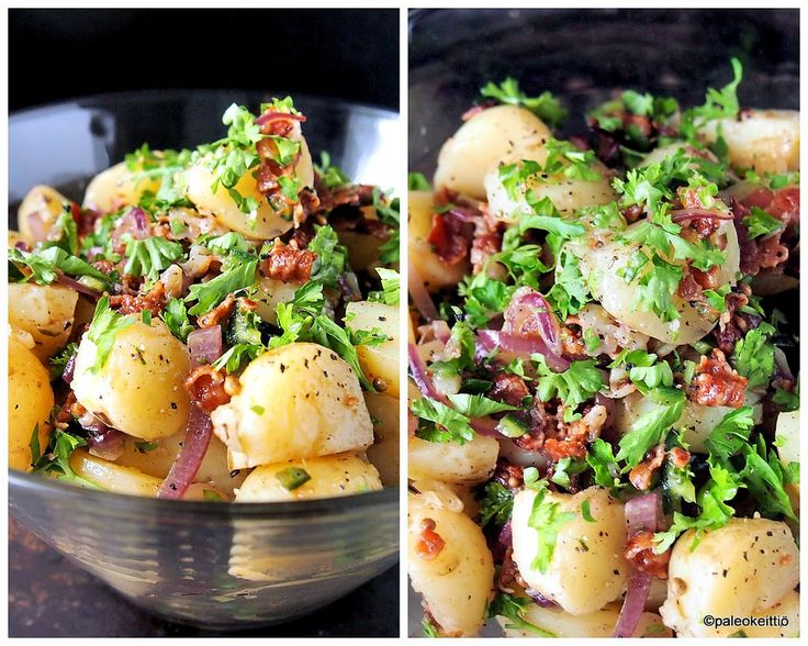 TexMexiä perunasalaattiin /// Varhaisperunasalaatti on mitä parhainta kesäruokaa! Mausta perunat texmex -tyyliin ja saat vanhaan tuttuun juttuun kivasti uutta vivahdetta. Testaa myös grillattuna!