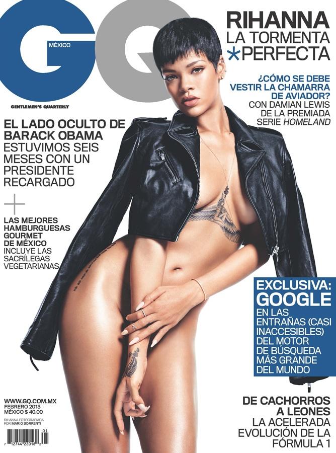 Rihanna en nuestra portada de Febrero 2013