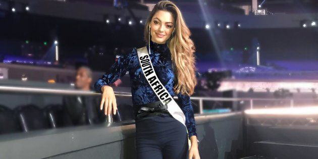 Miss SA Demi-Leigh Needs Votes At Miss Universe This Weekend