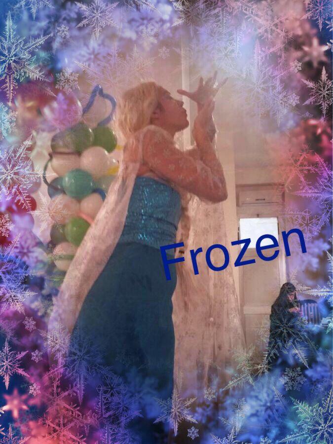 Corso bolle di sapone preparazione spettacolo Frozen