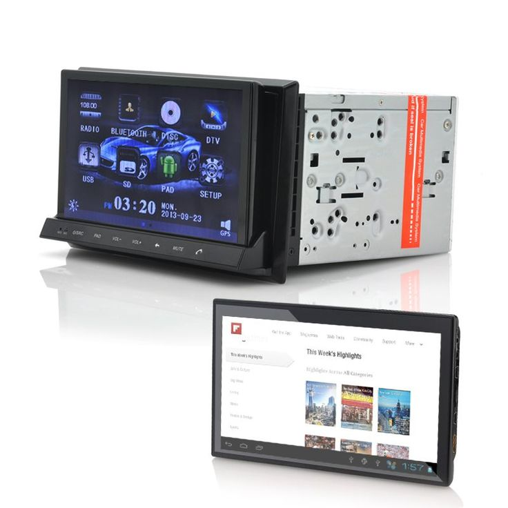 "amazones gadgets 2DIN Car DVD Player ""CVITT"" Detachable 7 Inch Android Tablet GPS DVB T WiFi: Bid: 393,55€ (£348.25) Buynow Price 393,55€…"