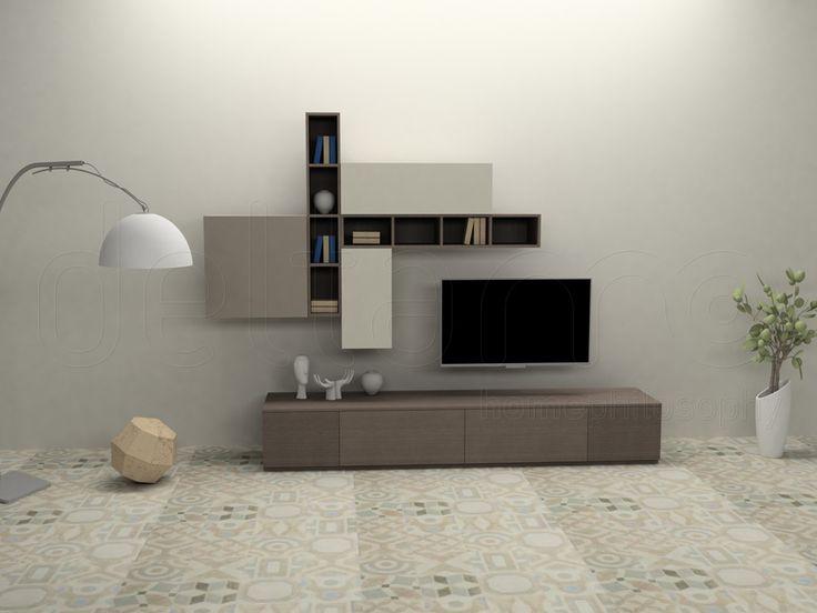 Έπιπλα Ηράκλειο: DeltaMo - προϊόντα - Συνθέσεις & Κατασκευές - Συνθέσεις τοίχου - PHANTOM