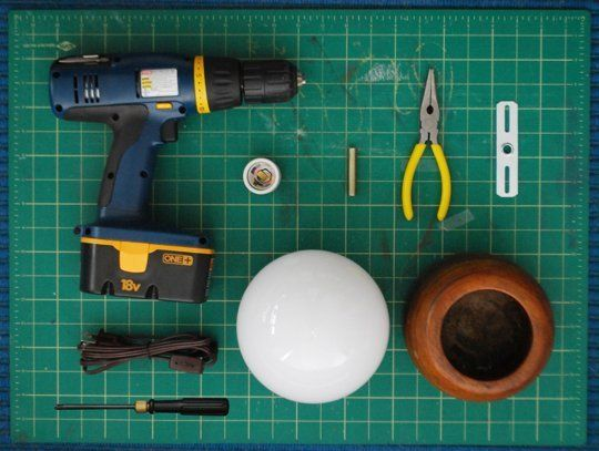 DIY Project Idea: How To Make a Lamp Out of Anything