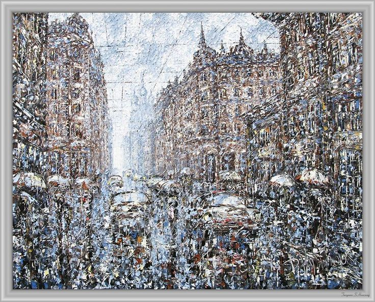 Dmitry Kustanovich 油画作品集11(21P) - 桃源居士 - 桃源居