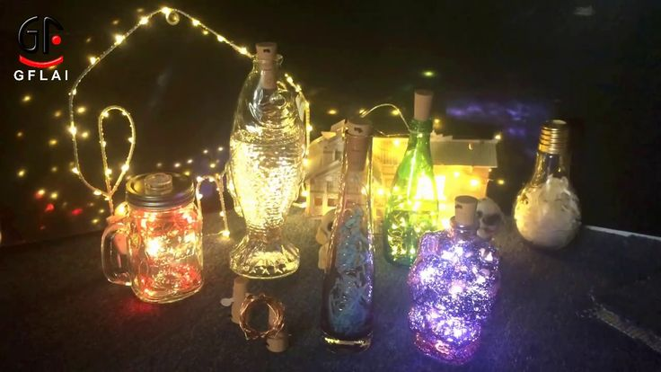 GFLAI -LED Bottle Cork String Lights - Free Sample is available
