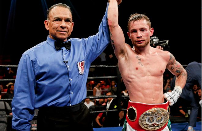 I recently watched Carl Frampton fight against Alejandro Gonzalez Jr.