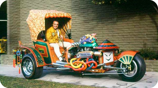 The Rickshaw by George Barris. You can see this car and much more at www.barris.com