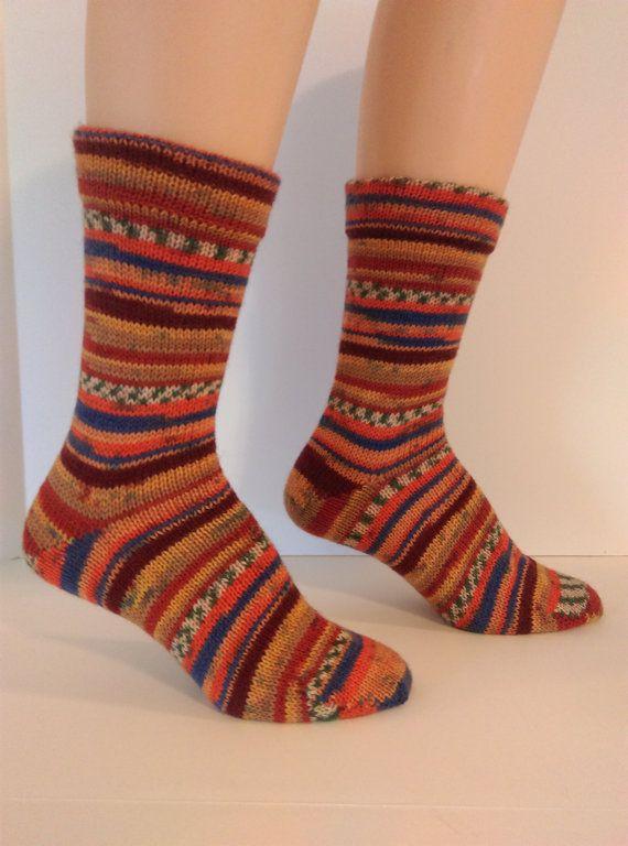 Hand Cranked Wool Ladies Socks Online by SocksEtcbyJennifer