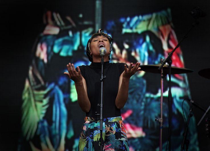 Ester Rada from Israel. Soul Diva combining Ethio-Jazz, funk, soul and R&B Photo credit Glenn Jefferey  #WOMADnz #EsterRada #Funk #R&B #artist