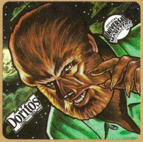 Doritos Stickers: 1992 Doritos Universal Monster Stickers