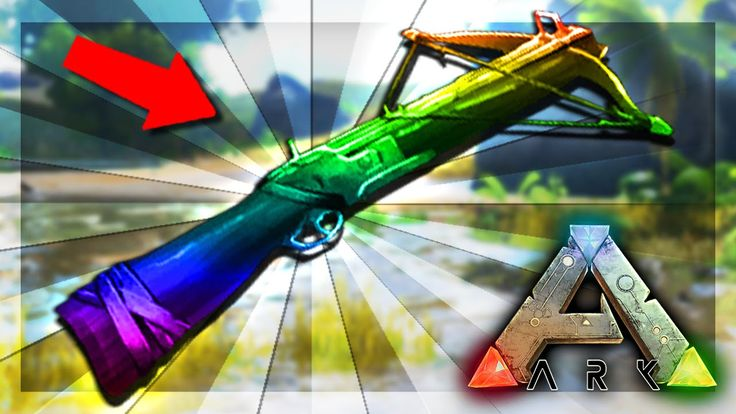 ARK: Survival Evolved Server - RARE CROSSBOW! #52