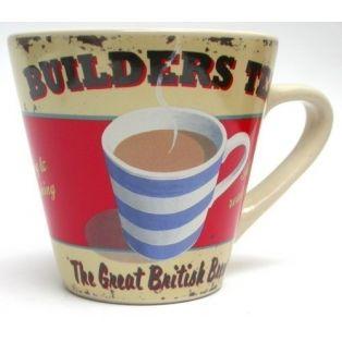 Martin Wiscombe - Builders Tea Mug