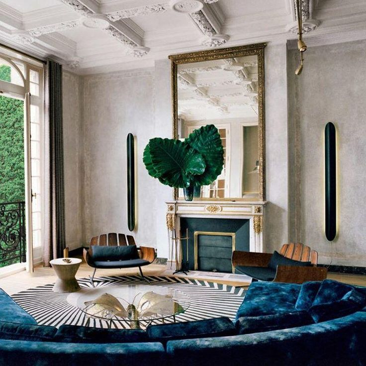 Deep blue and inspired @tmagazine #design #details #weekendreading