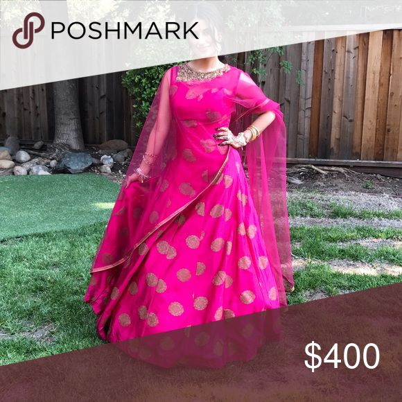 Indian suit.  pink anarkli Indian suit. Anarkli Other