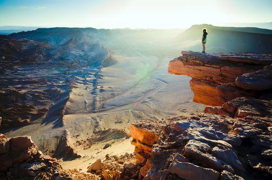 Beautiful view of the Atacama Desert #Chile #Travel