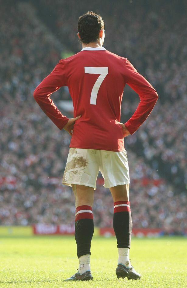 Manchester United 2008 Cristiano Ronaldo CR7